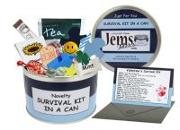 Valentine's (For Him) Survival Kit In A Can
